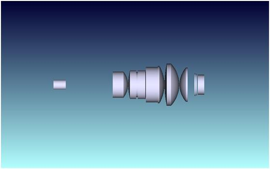 Internal Diagram of WD 18mm 100 X Objective