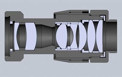 SWIR Lens outline