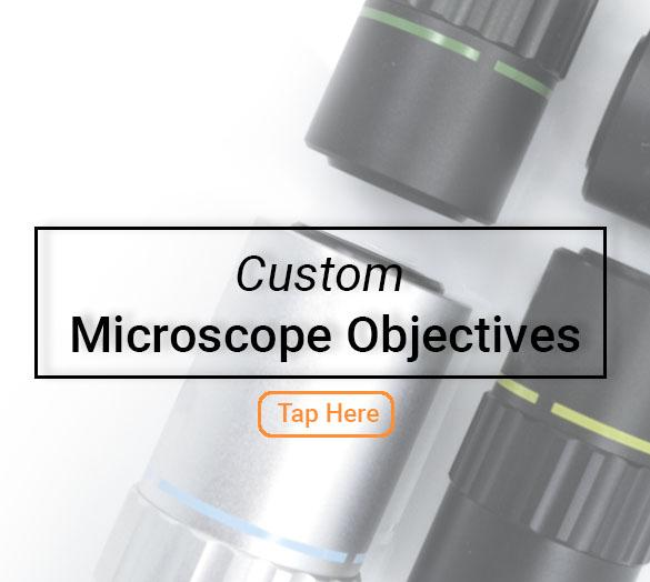 pre-engineered microscope objectives
